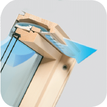 V22 - Okno dachowe obrotowe FTU-V U3