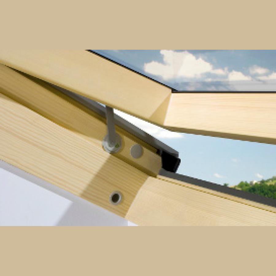 ZBB 900x400 - Okno dachowe obrotowe PCV roofART