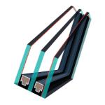 pakie szybowy Fakro u5 150x150 - Okno obrotowe 3-szybowe Premium Thermo RoofART