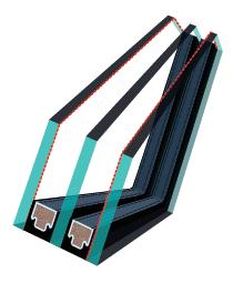 pakie szybowy Fakro u5 - Okno dachowe obrotowe superoszczędne FTP-V U5 trzyszybowe