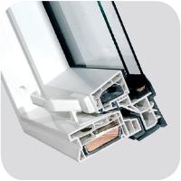 rama ona fakro PVC - Okno dachowe obrotowe PTP-V U3 Fakro