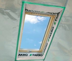 xds - Okno dachowe obrotowe FTP-V U3 Fakro
