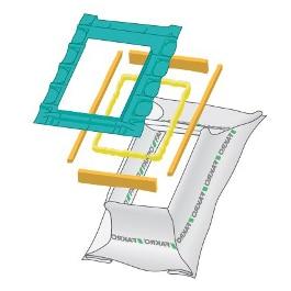 xds xdp - Okno dachowe obrotowe PTP-V U3 Fakro