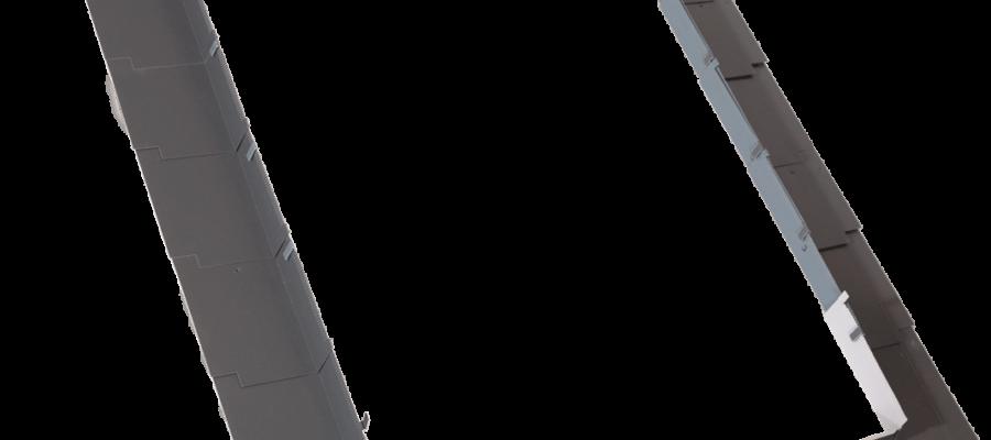 KOŁNIERZ do pokryc olaskich SFX roofart 900x400 - Okno dachowe obrotowe PCV roofART