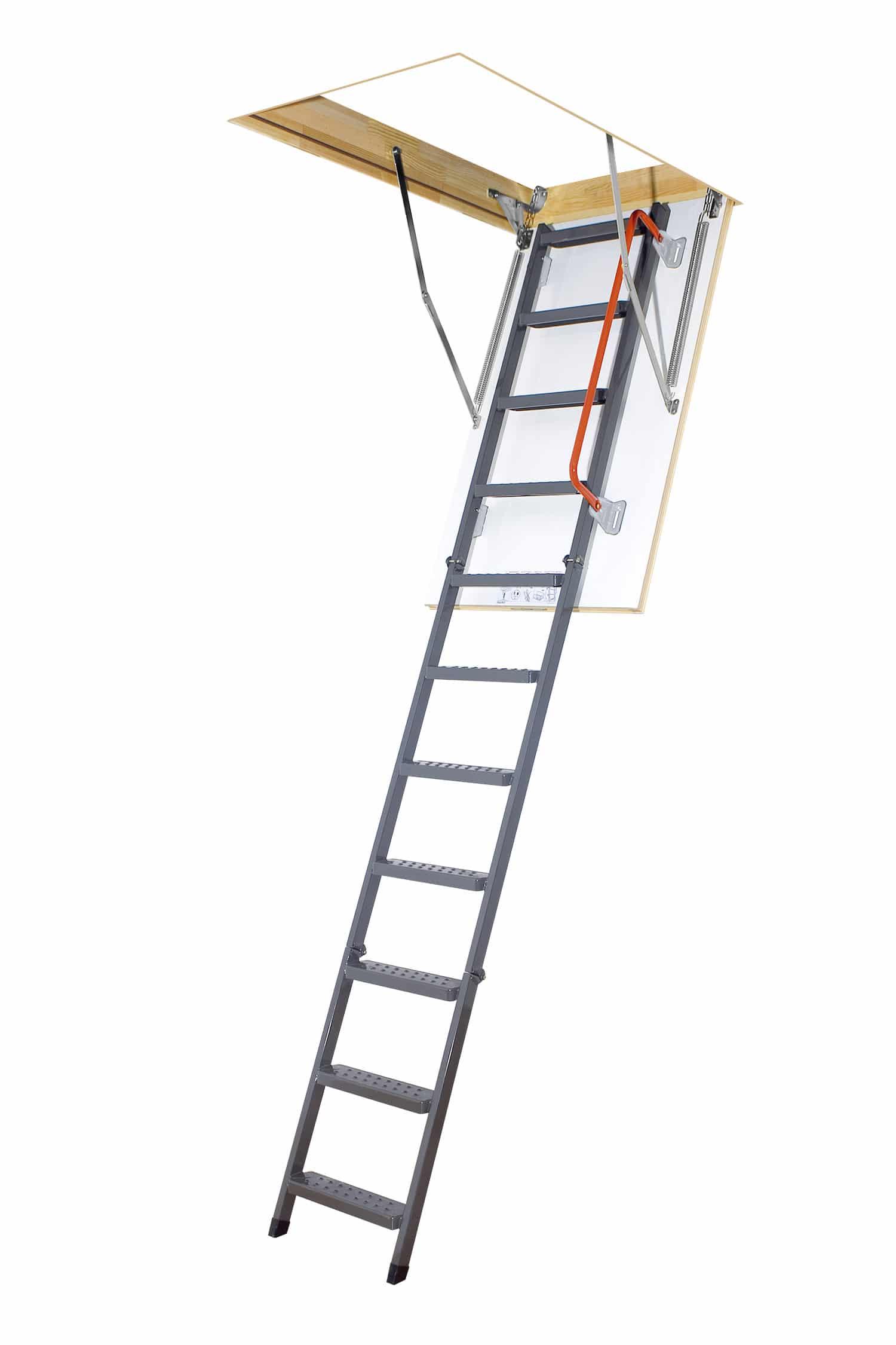 LMK01 - Schody strychowe LMK-305 Fakro z metalową drabinką