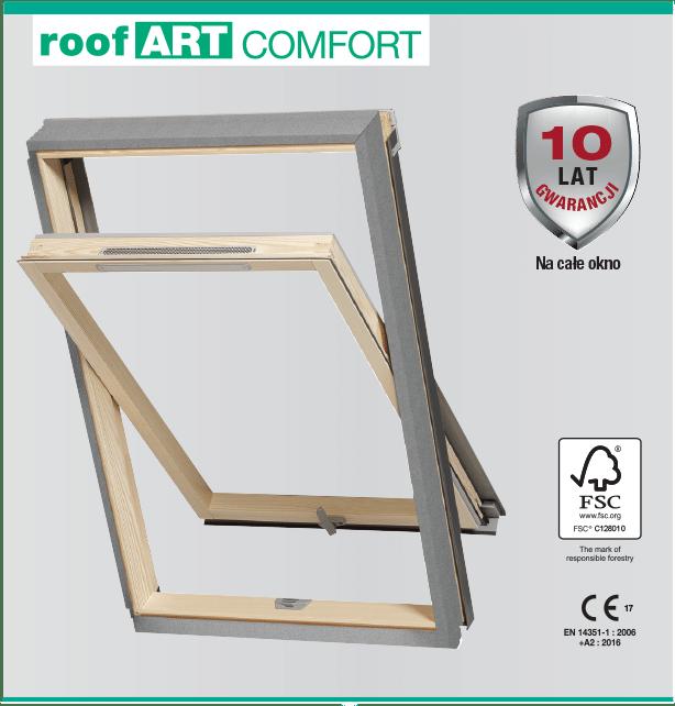 comfort1 - Okno dachowe roofart
