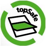 logo topsafe color - Okna Fakro