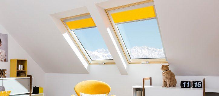 Fakro okno dachowe obrotowe superenergooszczędne 150