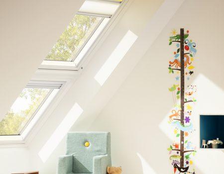 okna dachowe dziecka rolety